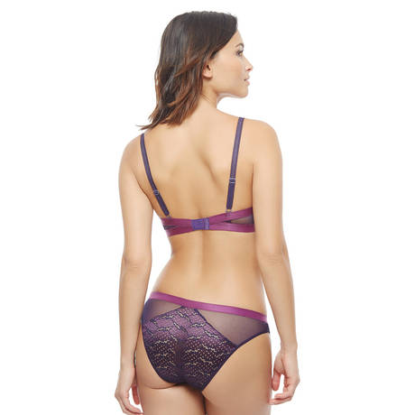 IMPLICITE Soutien-gorge push-up Influence Plum