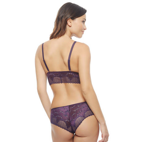 IMPLICITE Soutien-gorge sans armatures Influence Plum