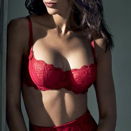 AUBADE Soutien-gorge corbeille Aubade à l'Amour Rouge Darling