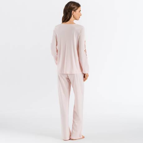HANRO Pyjama Jana Pearl Blush