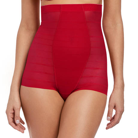 WACOAL Shorty taille extra-haute Sexy Shaping Rouge