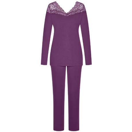 TRIUMPH Pyjama Amourette 300 Plum Purple