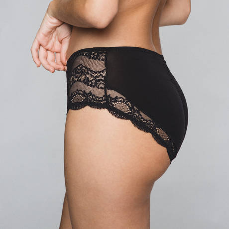 MAISON LEJABY Culotte Insaisissable Noir