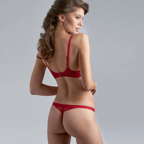 MARLIES DEKKERS String sexy Dame de Paris Rouge