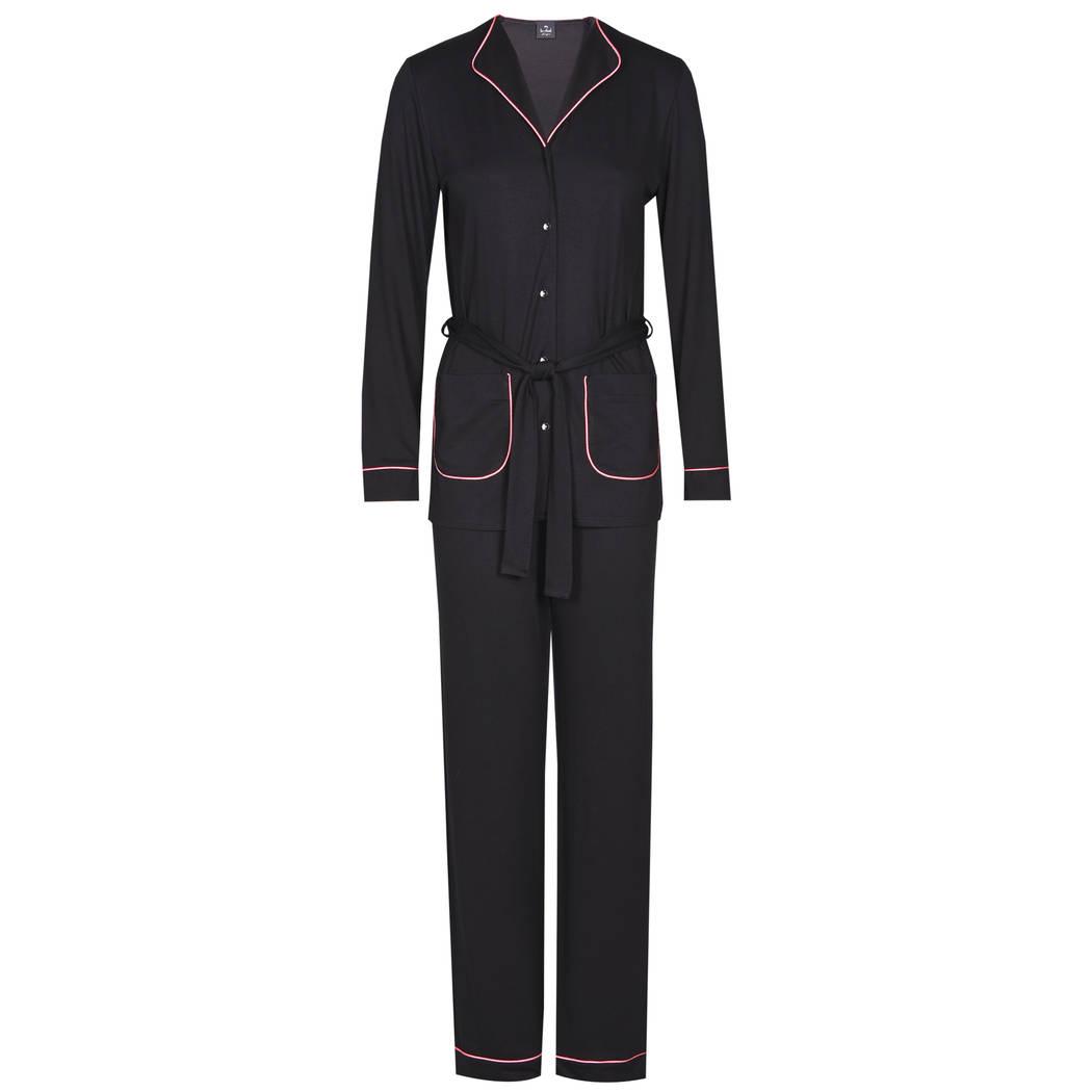 LE CHAT Pyjama Daphné Noir