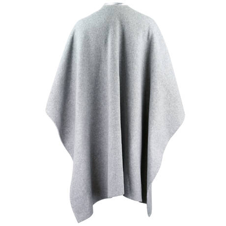 LE CHAT Poncho Essentiel Gris chiné
