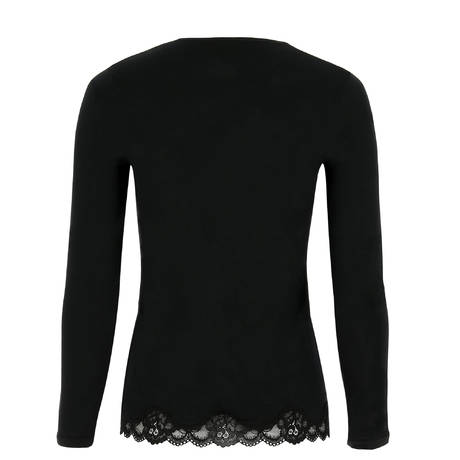 ANTIGEL Top manches longues Simply Perfect Noir