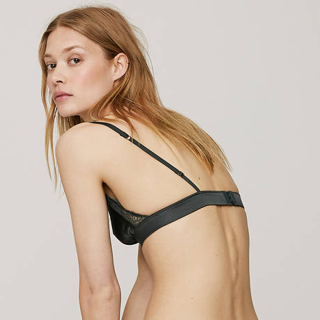 LOVE STORIES Soutien-gorge triangle Love Lace Greyed Blue