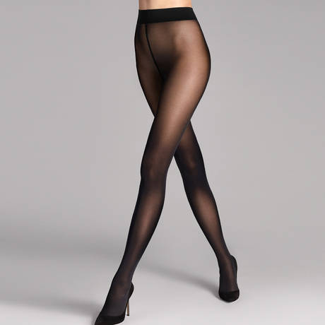 WOLFORD Collant 50 deniers opaque Pure Noir
