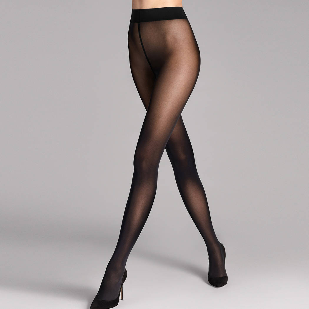 WOLFORD Collant 50D opaque Pure Noir