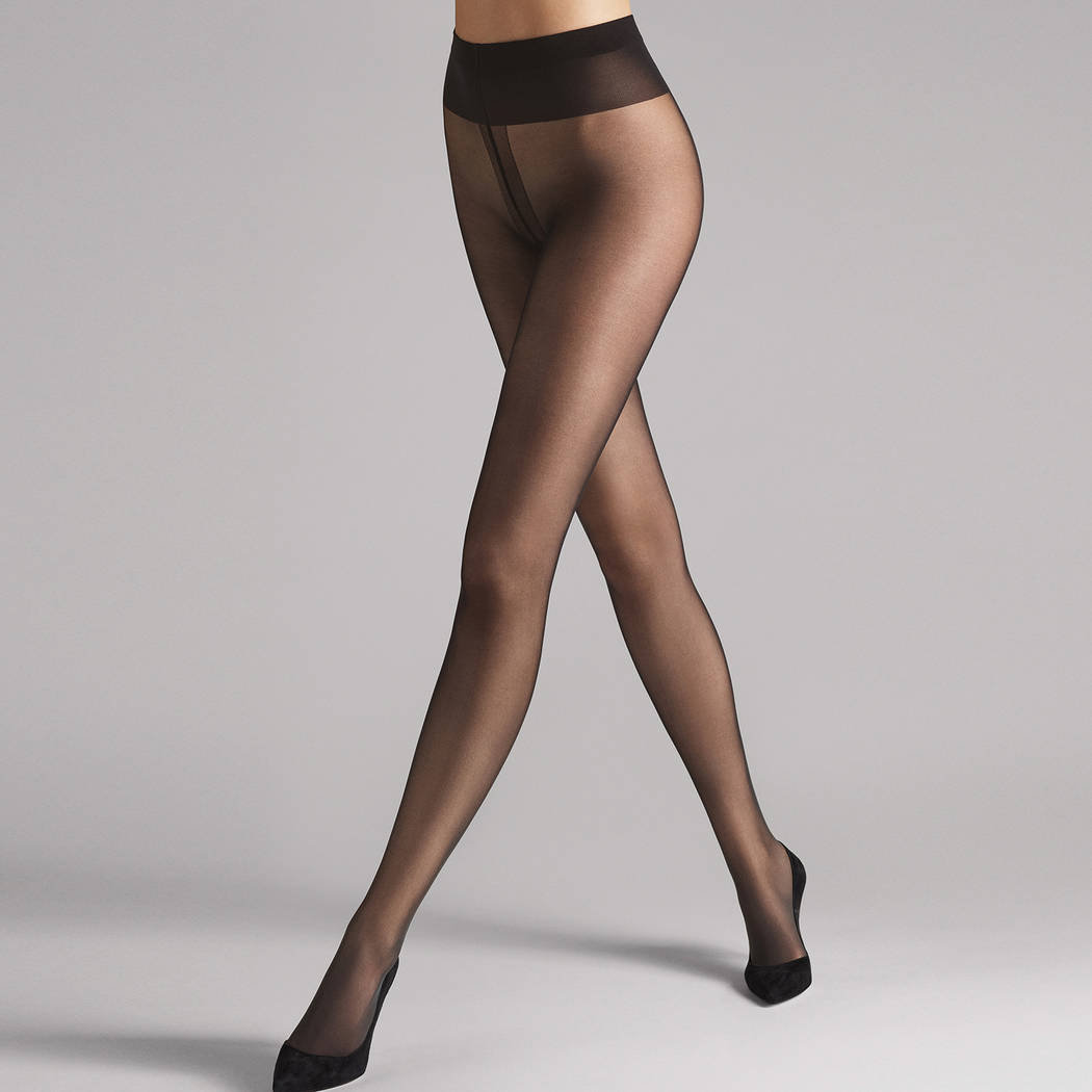 WOLFORD Collant 20D tenue parfaite Individual Nearly Black