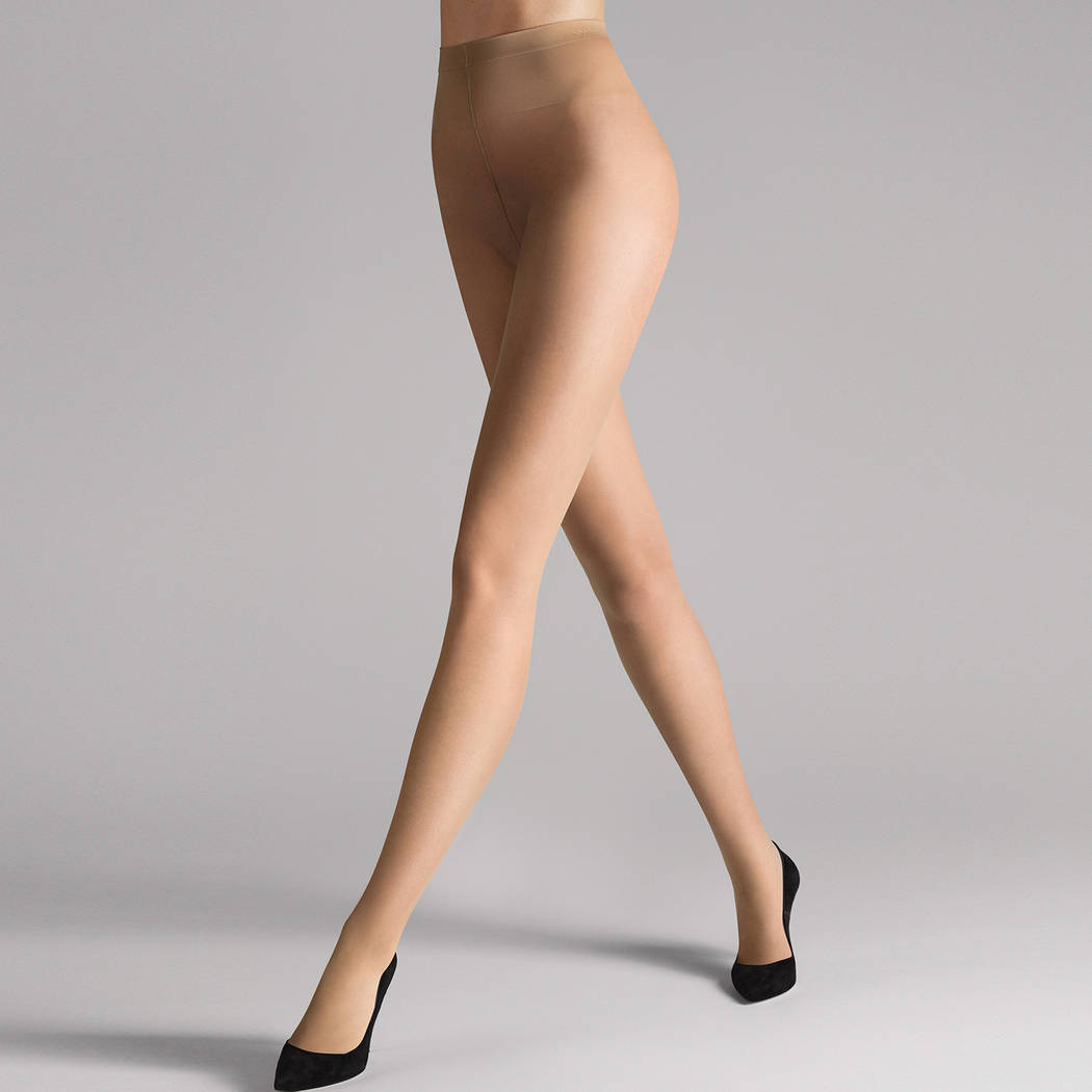 WOLFORD Collant 10 deniers tenue parfaite Individual Fairly Light