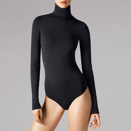 WOLFORD Body string sans coutures Orlando Noir