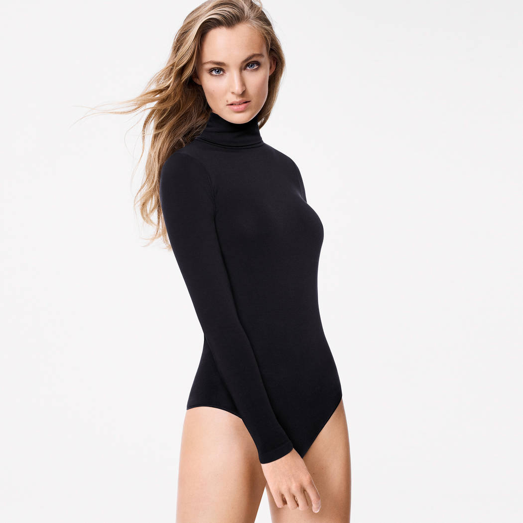 WOLFORD Body string sans coutures Orlando Noir