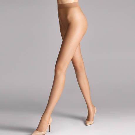 WOLFORD Collant 8 deniers aspect naturel Nude Gobi