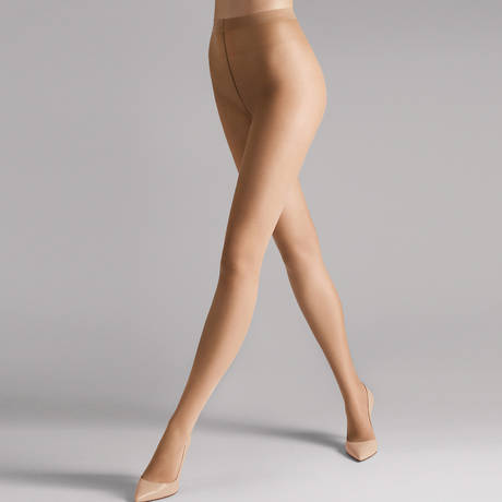WOLFORD Collant 15 deniers ultra-transparent Sheer Fairly Light