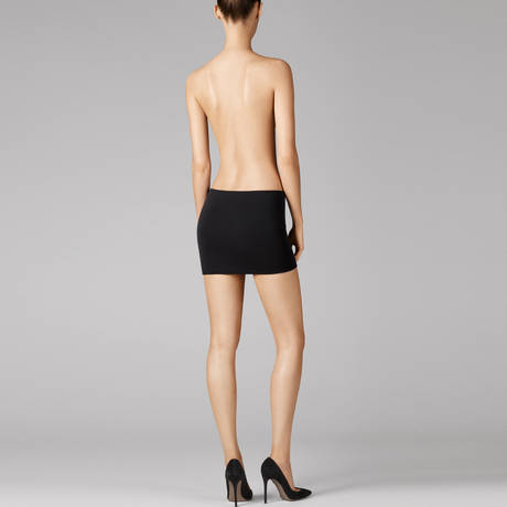 WOLFORD Robe multi-positions sans coutures Fatal Noir