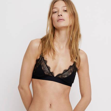 LOVE STORIES Soutien-gorge triangle Love Lace Noir