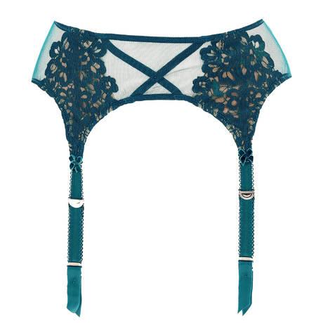 DITA VON TEESE Porte-jarretelles Dahlia Peacock