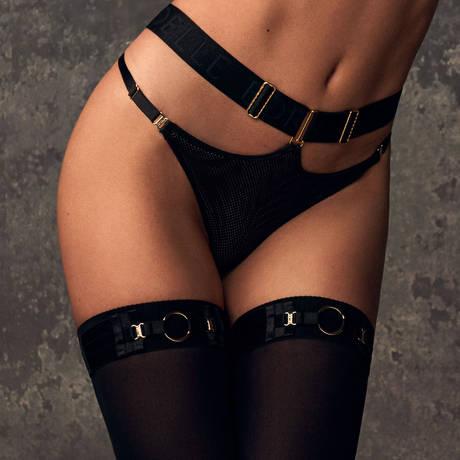 BORDELLE String Lea Noir