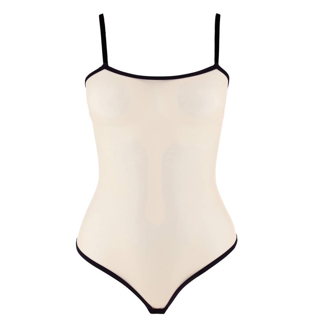 LES JUPONS DE TESS Body Bridget Nude/Noir