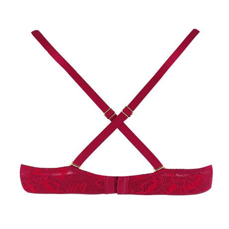 CHANTELLE Soutien-gorge spacer foulard Molitor Grenat Bordeaux