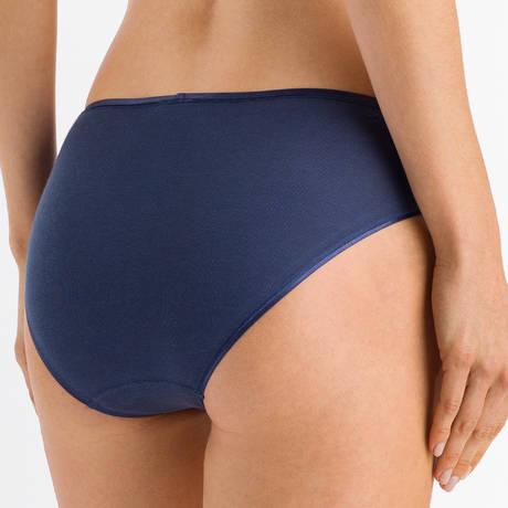 HANRO Slip en coton Cotton Seamless Horizon Blue