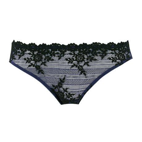 WACOAL Slip Embrace Lace Folkstone Grey/Black