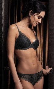 Wacoal Lace Perfection Charcoal