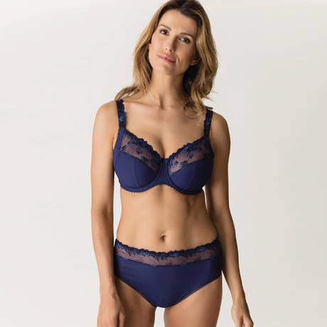 PRIMADONNA Culotte haute Plume Bleu Bijou