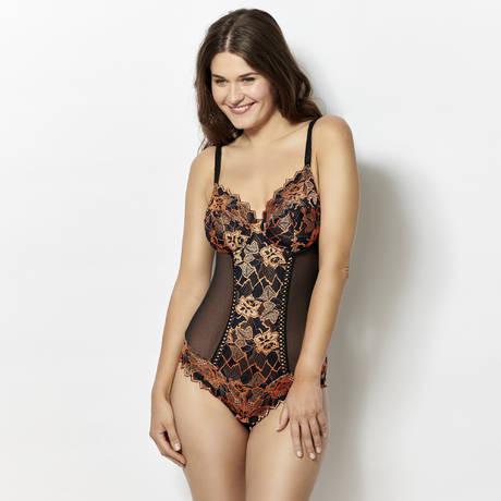 SANS COMPLEXE Body Arum Diva Noir/Bronze