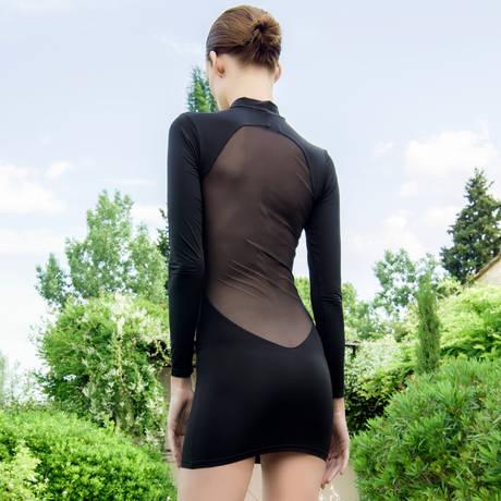 MAISON CLOSE Robe Pure Tentation Noir a4ebf5d8d91