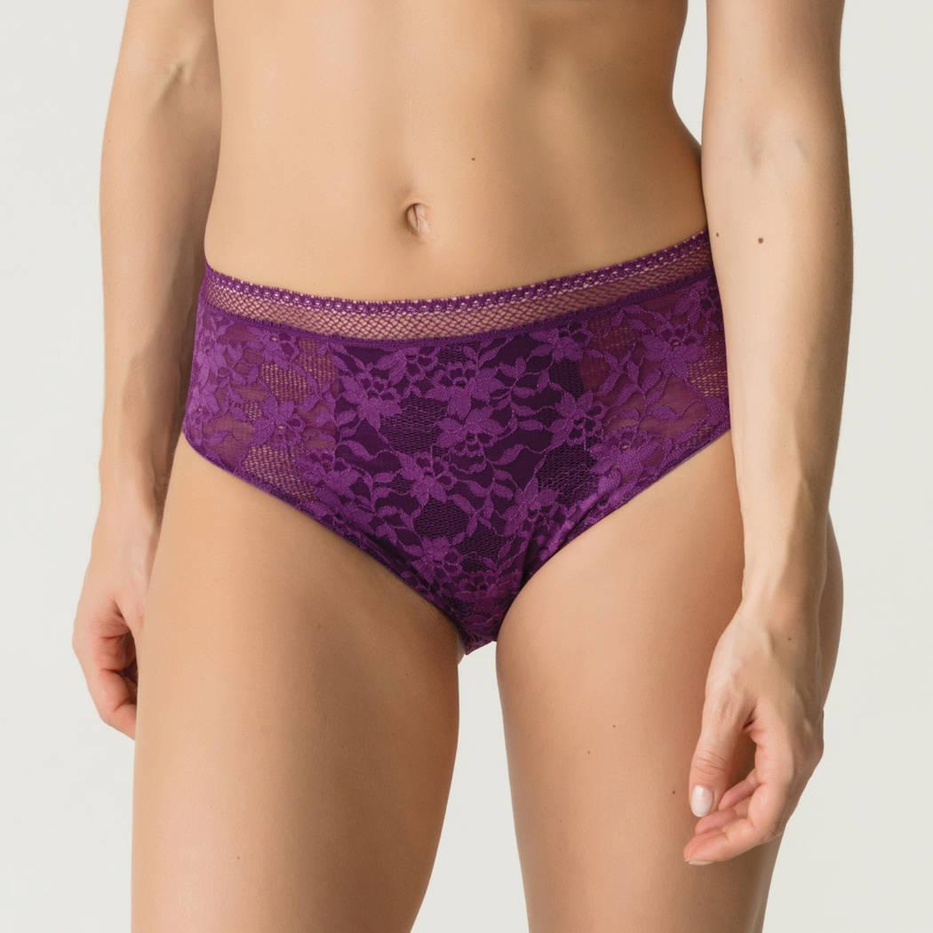 PRIMADONNA TWIST Culotte haute Tough Girl Purple Sparkle