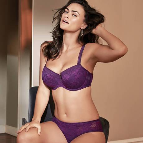 PRIMADONNA TWIST Shorty Tough Girl Purple Sparkle