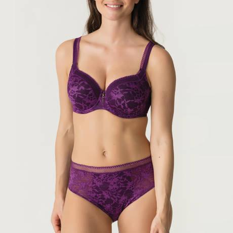 PRIMADONNA TWIST Soutien-gorge rembourré coeur Tough Girl Purple Sparkle