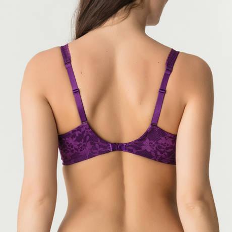 PRIMADONNA TWIST Soutien-gorge armatures emboîtant Tough Girl Purple Sparkle