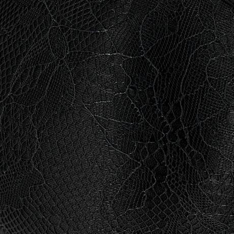 MARLIES DEKKERS Shorty Dame de Paris Black Lace Bow