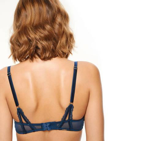 CHANTELLE Soutien-gorge corbeille Segur Bleu Profond