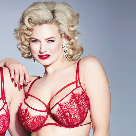 DITA VON TEESE Soutien-gorge armatures Maestra Dita Red Lace