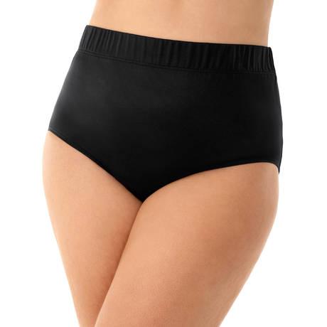 MIRACLESUIT Maillot de bain culotte haute galbante Basic Pant Noir