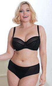 Curvy Kate Dottie Noir