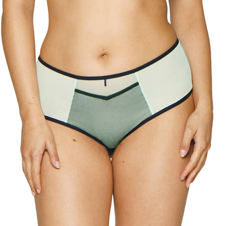 CURVY KATE Shorty Victory Viva Charcoal/Mint