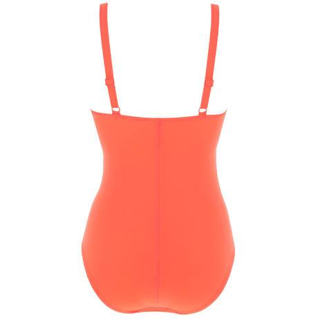 EMPREINTE Maillot de bain 1 pièce décolleté V Curl Orange