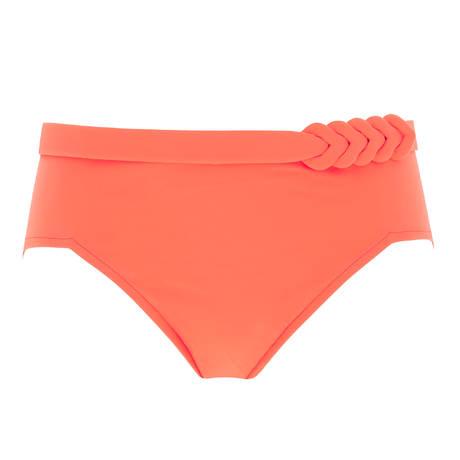 EMPREINTE Maillot de bain culotte haute Curl Nectarine