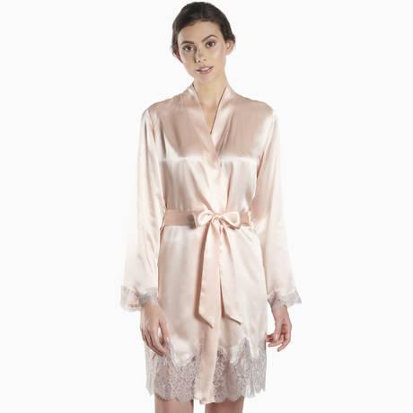 AUBADE Kimono en soie Soie d'Amour Boudoir