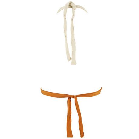 BANANA MOON Maillot de bain triangle Drao Couture Monterosso Safran