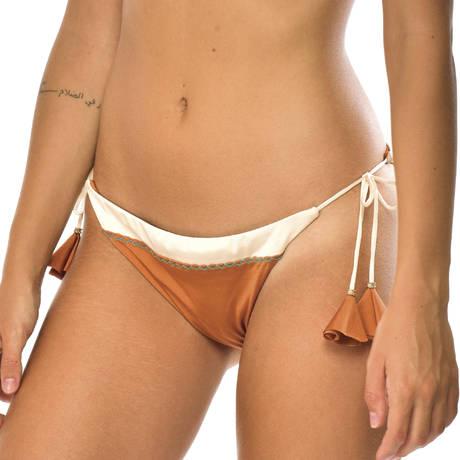 BANANA MOON Maillot de bain slip brésilien Couture Monterosso Orange
