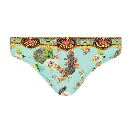 LISE CHARMEL Maillot de bain slip Fleurs Lagon Lagon Azur