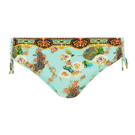 LISE CHARMEL Maillot de bain slip coulissant Fleurs Lagon Lagon Azur