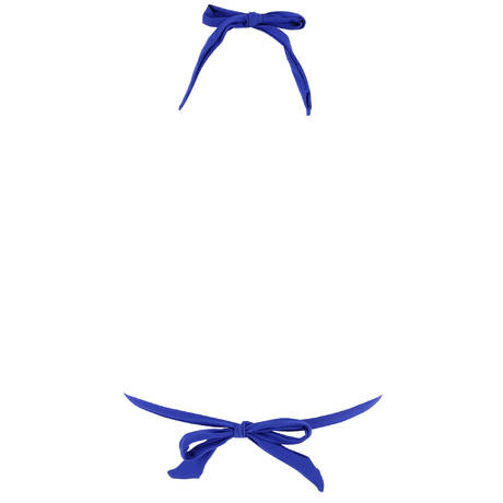 PAIN DE SUCRE Maillot de bain triangle coulissant Helia Sensitive Uni Life Bleu
